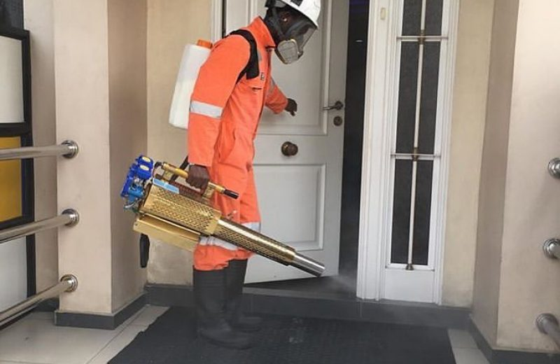 cleaning and fumigation services in Lagos Nigeria